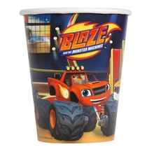 9oz Blaze and the Monster Machines Paper Cups, 8ct