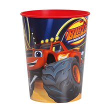 16oz Blaze and the Monster Machines Plastic Cup