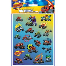 Blaze and the Monster Machines Sticker Sheets, 4ct