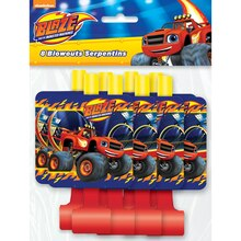Blaze and the Monster Machines Party Blowers, 8ct, Packaging