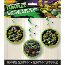 Hanging Teenage Mutant Ninja Turtles Decorations, 3ct