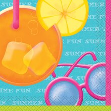 Pool Party Beverage Napkins, 16ct