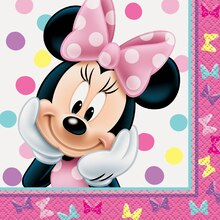 Minnie Mouse Beverage Napkins, 16ct