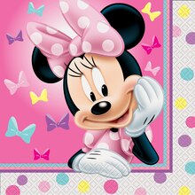 Minnie Mouse Luncheon Napkins, 16ct