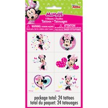 Minnie Mouse Tattoos, 24ct