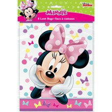 Minnie Mouse Goodie Bags, 8ct