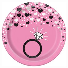 "7"" Bachelorette Party Plates, 8ct"