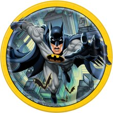 "9"" Batman Party Plates, 8ct"