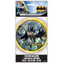 "Foil Batman Balloon, 18"", Packaging"