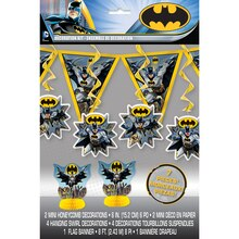 Batman Party Decorating Kit, 7pc