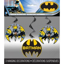 Hanging Batman Decorations, 3ct, Packaging