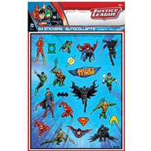 Justice League Sticker Sheets, 4ct