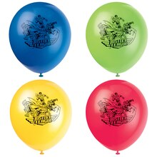 "12"" Latex Justice League Balloons, 8ct"