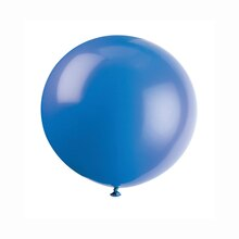 "36"" Giant Latex Evening Blue Balloons, 6ct"