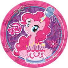 "7"" My Little Pony Party Plates, 8ct"