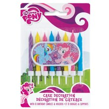 My Little Pony Cake Topper and Birthday Candle Set
