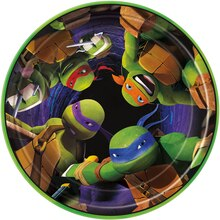 "7"" Teenage Mutant Ninja Turtles Party Plates, 8ct"