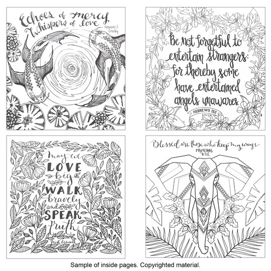 Whatever Is Lovely: A Coloring Book For Reflection & Worship