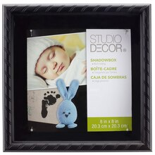 Studio Decor Black Rope Shadowbox