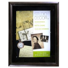 "Studio Décor® Shadowbox, Bronze 11"" x 14"", medium"