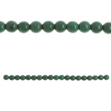 Bead Gallery Czech Glass Large Round Beads, Turquoise