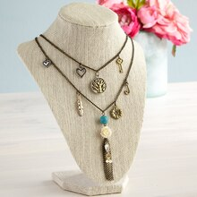 Free Jewelry Class: Vintage Layered Charm Necklace, medium