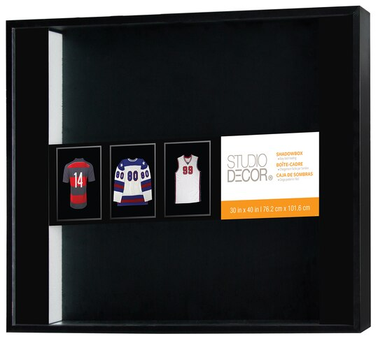 diy frame a sports jersey with shadow box from michaels this is - Michaels Picture Frames