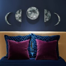Phases of the Moon Wall Art, medium