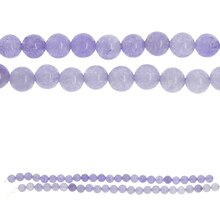 Bead Gallery Dyed Quartzite Beads, Amethyst