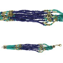 Bead Gallery Glass Seed Bead Bracelet, Blue