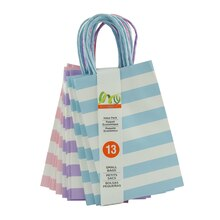 Pastel Stripe Value Pack Small Bags by Celebrate It