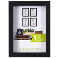 Black Shadowbox 4 Pack by Studio Décor