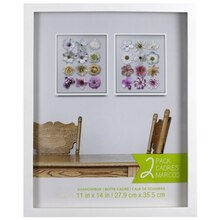 White Shadowbox 2 Pack by Studio Décor