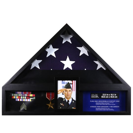 Deluxe Flag Case With Photo Display By Studio D 233 Cor 174