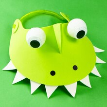 Land of the Dinosaurs: Dinosaur Visor, medium