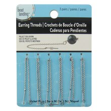 Earring Threads with Rings by Bead Landing