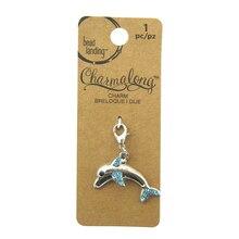 Charmalong Dolphin Charm by Bead Landing