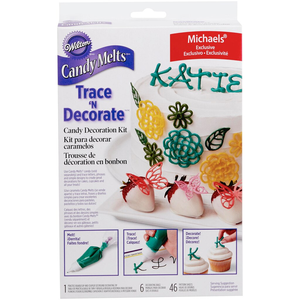 Buy the wilton candy melts trace 39 n decorate candy for Michaels craft store cake decorating classes