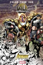 Color Your Own Age of Ultron Coloring Book
