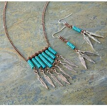 Boho Necklace, medium