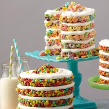 Fruit Cereal Treat Cakes, medium