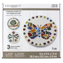 Made with Love Garden Buddies Stepping Stone Kit by Celebrate It
