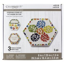 Made with Love Garden Patch Stepping Stone Kit by Celebrate It