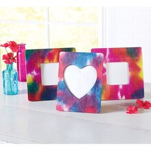 Tie-Dye Wood Frames, medium