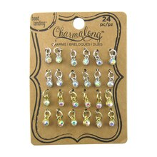 Charmalong Crystal AB Drop Charms by Bead Landing