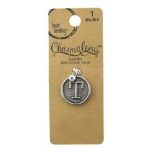 Charmalong T Letter Charm by Bead Landing