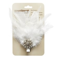 Occasions White Hair Clip by Celebrate It