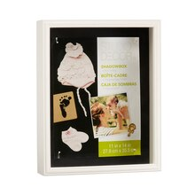 "11"" x 14"" White Shadowbox by Studio Décor"