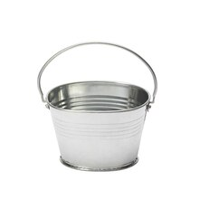 Small Galvanized Metal Bucket by Ashland