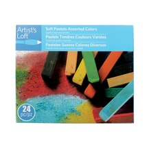 Soft Pastels Assorted Colors by Artist's Loft, 24 Count